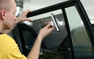 Как правильно тонировать стекла автомобиля своими руками?