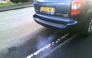 Мотоблок дымит синим дымом что делать?