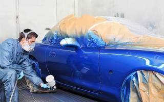 Как правильно покрасить автомобиль своими руками?